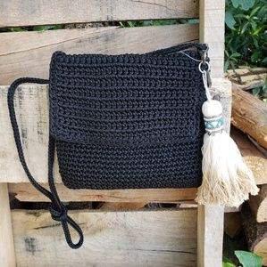 🚨NEW LIST! The Sak Crochet Boho Beaded Tassel Bag
